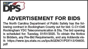 DPS Rockingham Co YDC Telecom